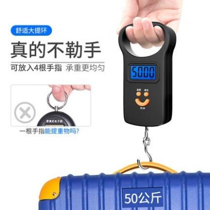 迷你电子秤 手提秤50kg  便携式弹簧秤