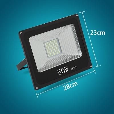 50瓦工程铝壳款白光(1个)