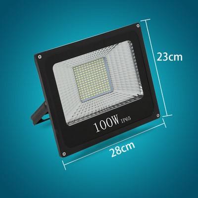 100瓦工程铝壳款白光(1个)