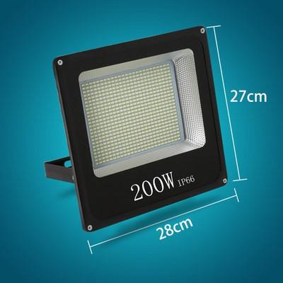 200瓦工程铝壳款白光(1个)