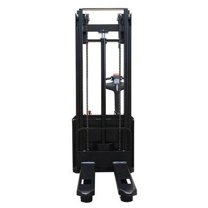 杭叉1/1.2吨全电动叉车迷你双柱托盘堆垛车 升高电动液压搬运装卸车
